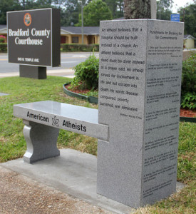 Atheist Bench
