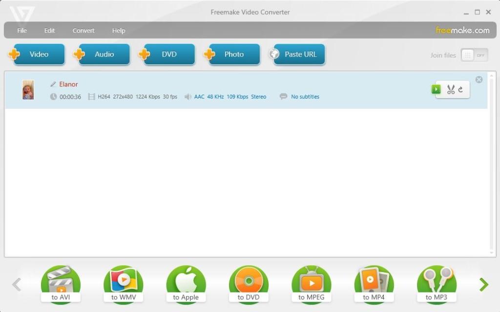 Freemake Screenshot